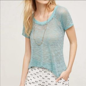 Anthropologie Eri + Ali Maida Tee New Top Medium